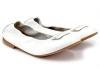 Zapatos de Comunión para niñas 2017: Clarys bailarina blanca