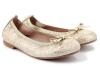 Zapatos de Comunión para niñas 2017: Clarys bailarina dorada