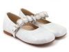 Zapatos de Comunión para niñas 2017: Clarys bailarina flores