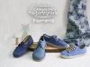 Zapatos de Comunión Pisamonas 2017: niño azules