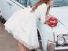 Zapatos de novia de colores: rojo