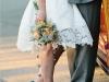 Zapatos de novia de colores: verdes