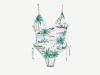 Zara baño verano 2017: bañador estampado