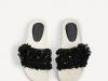 Zara baño verano 2017: sandalias planas abalorios