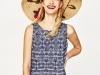 Zara baño verano 2017: sombrero pamela flores