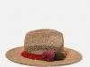Zara baño verano 2017: sombrero rafia
