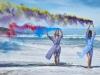 Zara campaña primavera/verano 2016: vestidos camiseros azules
