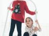 Zara Kids Navidad 2016: pijamas rojos y blancos