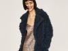 Zara Navidad 2016 colección Evening: abrigo de pelo