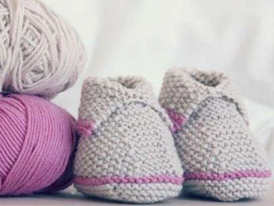 Patucos de ganchillo para bebé: Hazlos tú misma