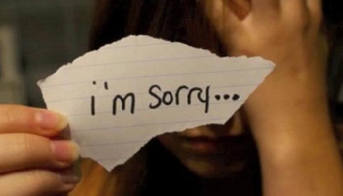 Cómo pedir perdón a la pareja: Di