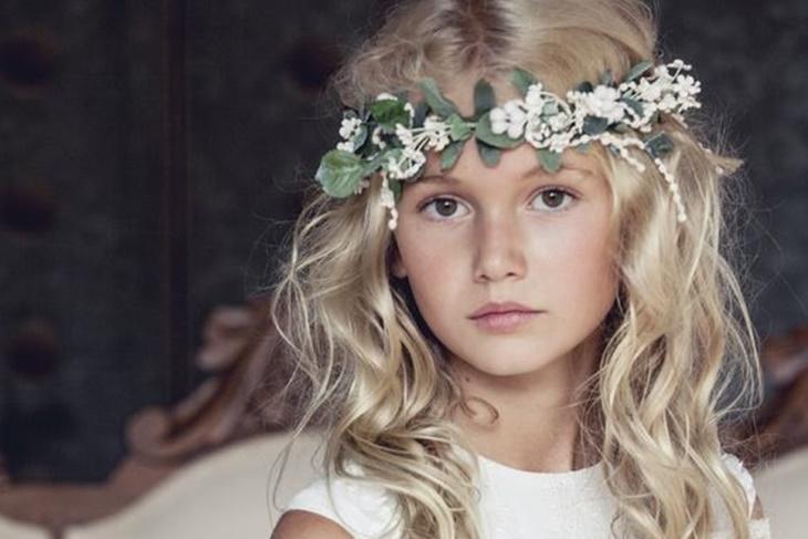 Peinados para niña de Comunión: Top 10