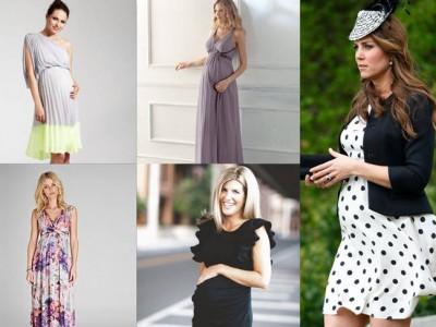 Vestidos premamá para fiestas: Luce tripita
