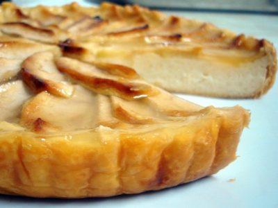 Tarta de manzana con hojaldre: Receta tradicional