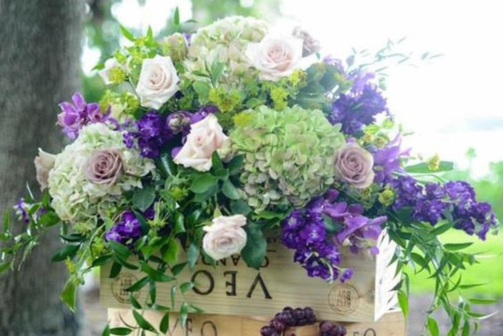 Adornos Florales Para Bodas Los Mas Elegantes Fotos Mujeralia - Adornos-florales