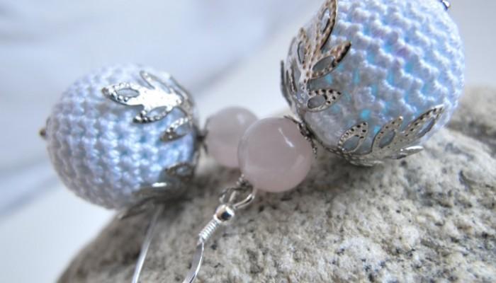 Ganchillo con abalorios: Complementos a la moda