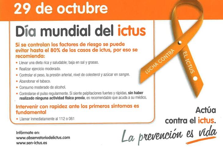 Día Mundial del ictus 2015: Aprende a prevenirlo