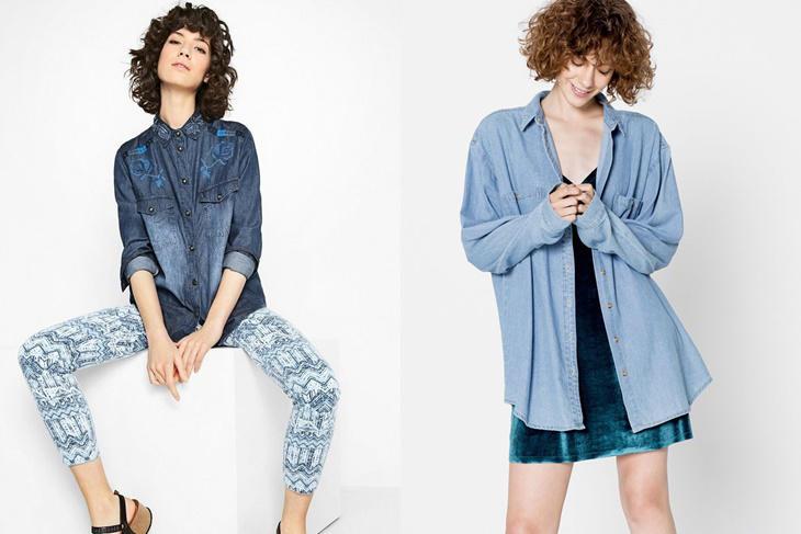 Cómo combinar camisas vaqueras: Look trendy