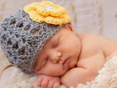 Cómo hacer un gorro de ganchillo para bebé paso a paso