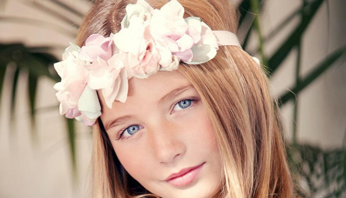 Complementos para el pelo de Primera Comunión: Adorna su peinado