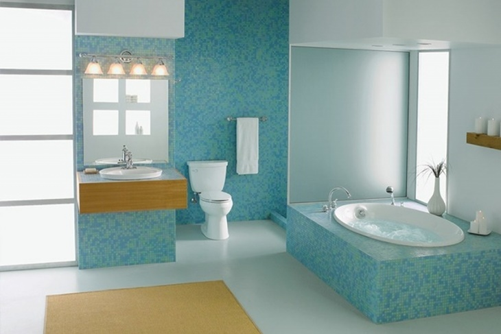C mo limpiar los azulejos del ba o para que queden - Como pintar mi piso moderno ...