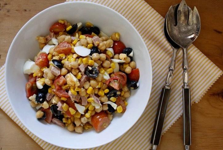 Ensaladas de legumbres frías: Recetas sabrosas para el verano