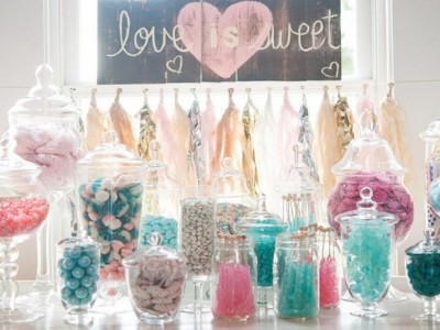 Candy Bar para bodas: Cómo organizarlo y montarlo