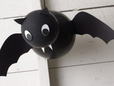 Cómo hacer murciélagos para Halloween: Decoración para niños