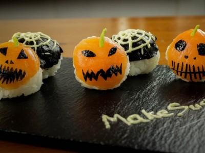 Sushi para Halloween: Receta japonesa paso a paso
