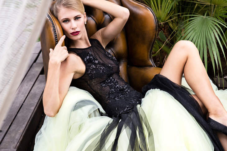 Vestidos de novia de colores: Modelos originales