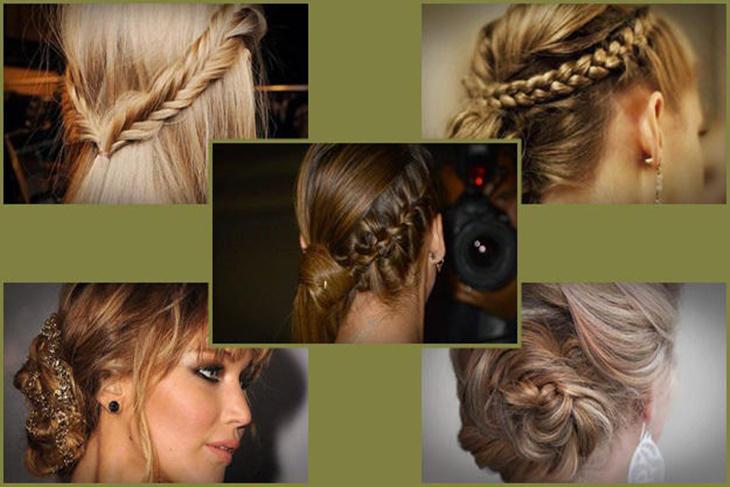 Peinados con trenzas para Nochevieja 2015
