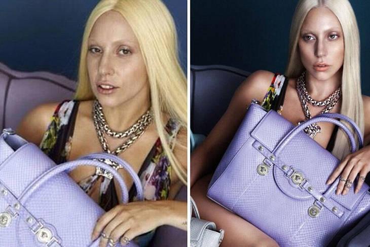 Los photoshop de las famosas más comentados Lady Gaga