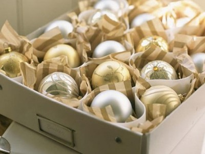 Cómo guardar y organizar la decoración de Navidad: Consejos y trucos
