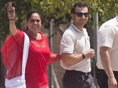 Isabel Pantoja sale de la cárcel con su segundo permiso