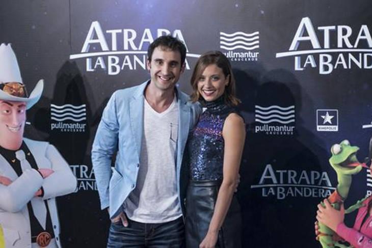 Dani Rovira y Michelle Jenner presentan 'Atrapa la Bandera'