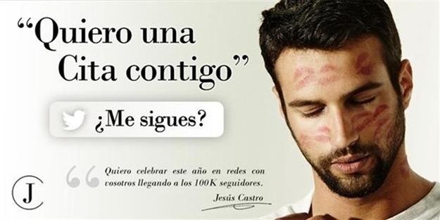 Foto de Jesús Catro en Twitter