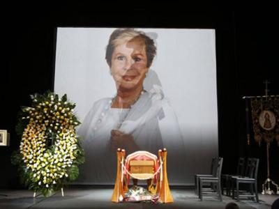 Lina Morgan: último y emotivo adiós en la La Latina