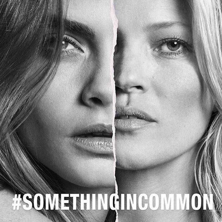 Mango, Kate Moss y Cara Delevingne #SOMETHINGINCOMMON