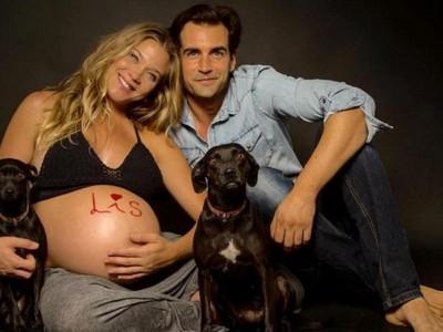 Patricia Montero y Álex Adrover ya son padres