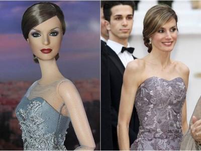 La Reina Letizia se convierte en una muñeca Barbie
