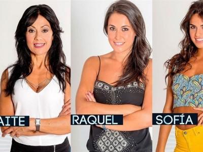 Gran Hermano 16: Maite, Sofía y Raquel son las primeras nominadas