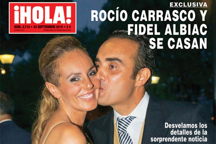 Rocío Carrasco y Fidel Albiac se casan: ¡Confirmado!