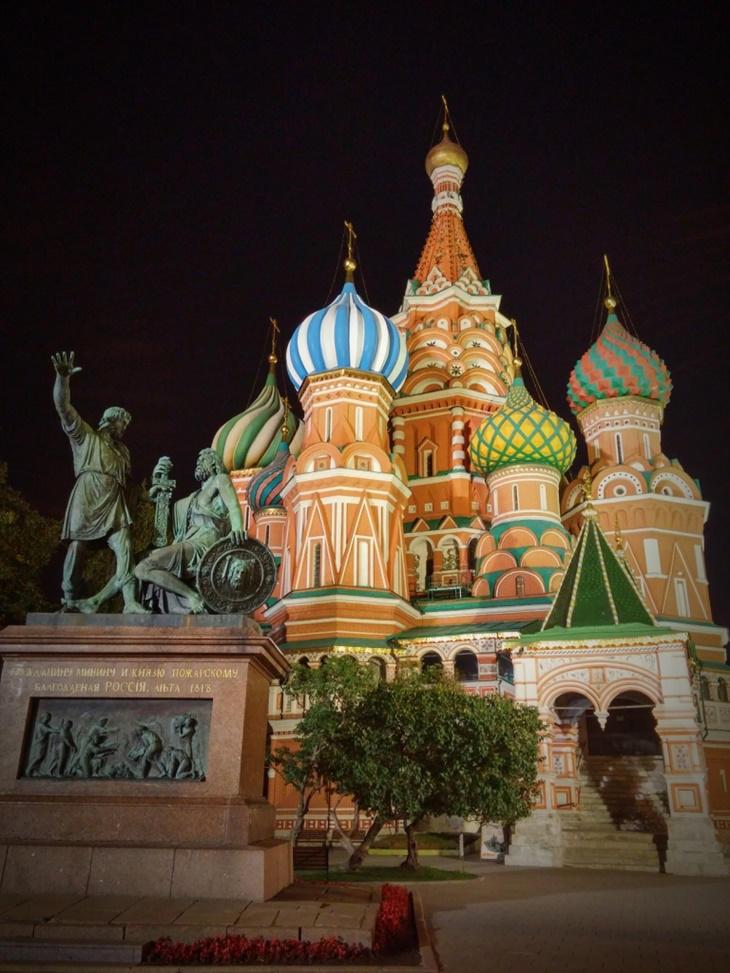 Caminando por Moscú: Catedral San Basilio