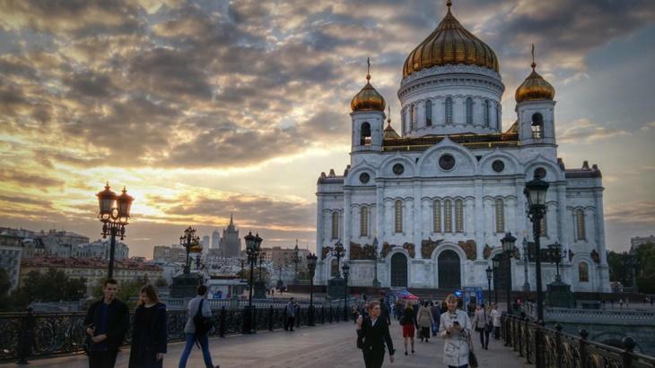Caminando por Moscú: Catedral Cristo Salvador