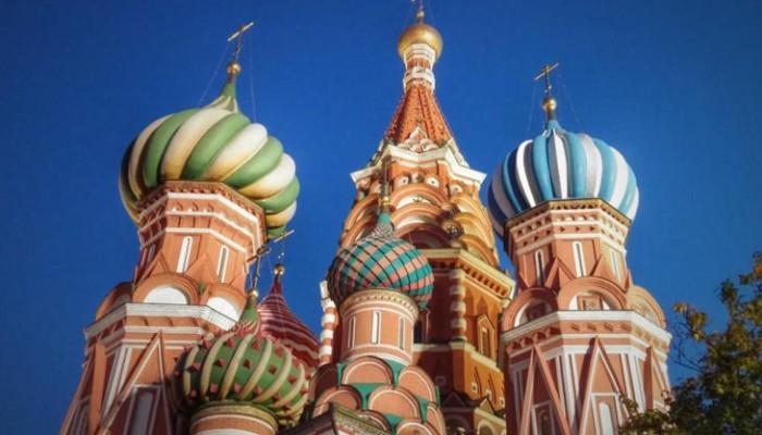 Caminando por Moscú: Catedral San Basilio cúpulas