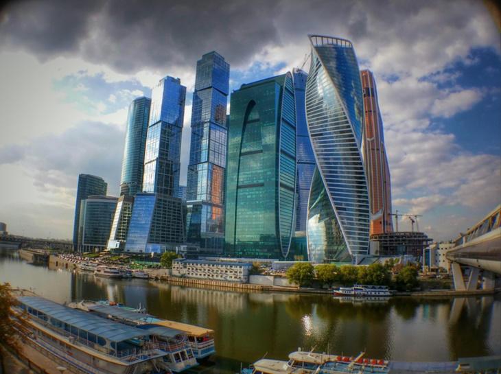 Caminando por Moscú: Centro Internacional de Negocios