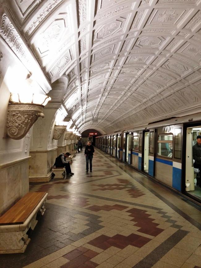 Caminando por Moscú: Metro
