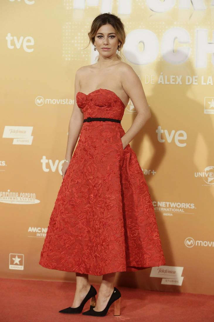 Blanca Suárez look estreno de 'Mi gran noche'