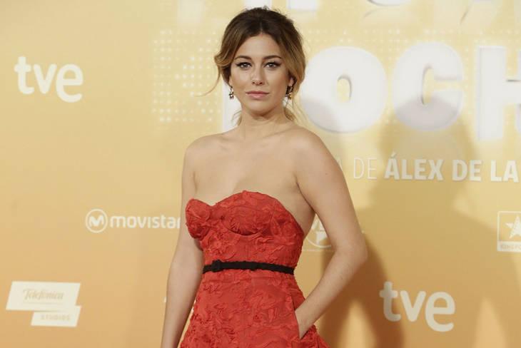 Blanca Suárez, la mujer de rojo en el estreno de 'Mi gran noche'