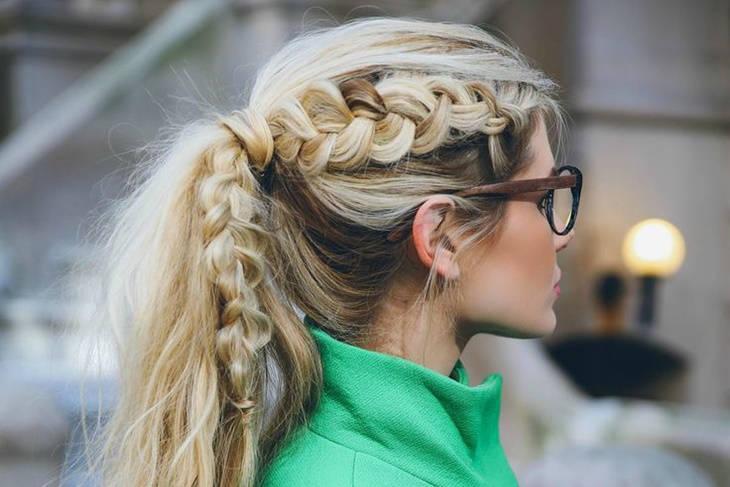 Coletas para la oficina: peinado de moda